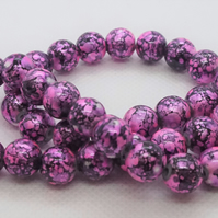 Spray Painted Drawbench Beads (11-12)