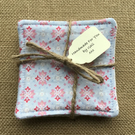 100% Cotton Reusable Cleansing Wipes