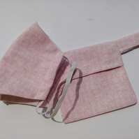 Face mask - Subtle pink (1)