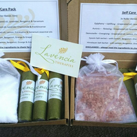 Self Care Pack - Aromatherapy letter box sized gift pack