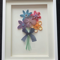 Large Quilled Paper Flowers
