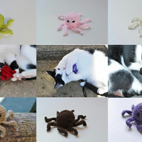 Octopus Cats Interactive Play Toy
