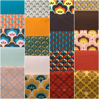 20 Fat Quarter Fabric Bundle  Collection Moose