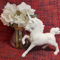 Earthenware Bisque Unicorn ready for painting