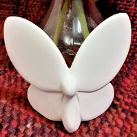 Earthenware Bisque Butterfly