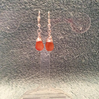 Carnelian Earrings Item Code E488