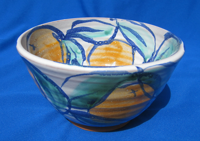oranges bowl, small