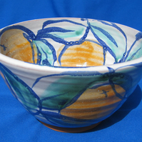 Oranges bowl, small            10