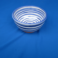 Small Bowl, blue lines     32