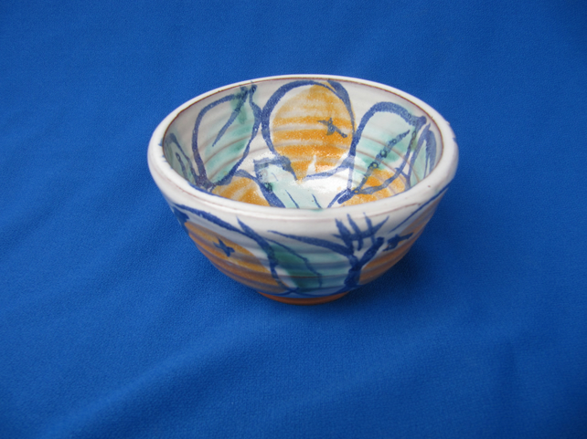 Small oranges bowl