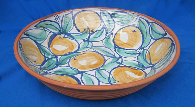 Large Oranges Dish