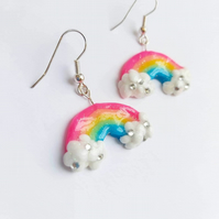 Rainbow Sparkle Earrings