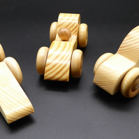 Wooden Toy Cars (Set of 3)