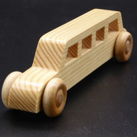 Wooden Stretched Limo