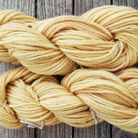 Primrose Yellow (Willow) Hand Dyed Yarn, Aran.