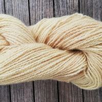 Yellow ( Willow) Hand Dyed 100% Alpaca.