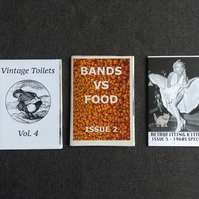 Mini zines - Bundle D