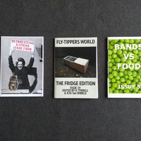 Mini zines - Bundle E