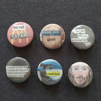 Triple One Five Handcut Collage Badges (LOT 4)