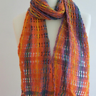 Sunshine Scarf in Acrylic and Wool