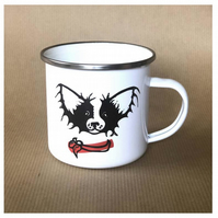 Little Dog Enamel Mug