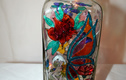 Hand Painted Bottle Lamps