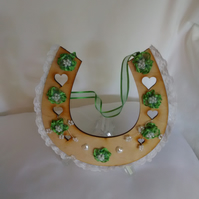 Wooden Decorated Horseshoes