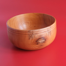 Heart Wood Yew bowl