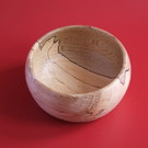 Small Spalted Beech Bowl
