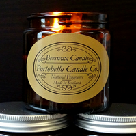 Pure Beeswax Jar Candle