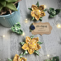 Flower Fairy Lights - Sunny Yellows and Spring Greens