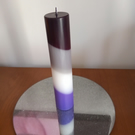 Cylinder Asexual candle