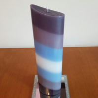 Demiboy oval candle