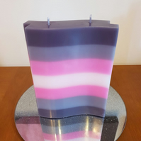 Demigirl Flag candle