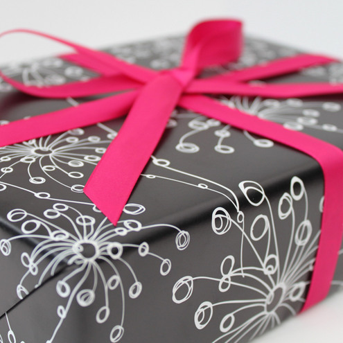 Quirky Motifs Gift Wrap
