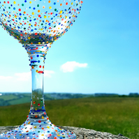 Gill's Gin Glass 'The Dot'
