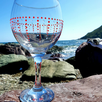 Gill's Gin Glass 'The Drop'