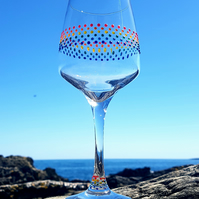Gill's Wine Glass 'The Rainbow'