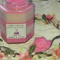 Super-Scented, Scoopable & Sustainable Luxury Coconut Wax (Raspberry Pie)