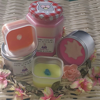XL Set,Super- Scented Scoopable Wax(Fruit,Cocktails&Holidays)5 FULLSIZE PRODUCTS
