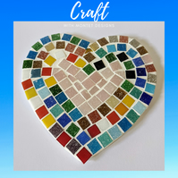 4 Love Heart Mosaic Kit