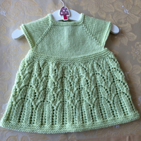 Baby Girl's Knitted Dress