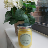 100% Soy Wax Essential Oil Orange Candle 220g