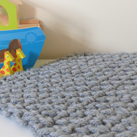Ultra squishy toddler car or pushchair blanket