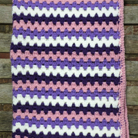 Practically perfect baby blanket