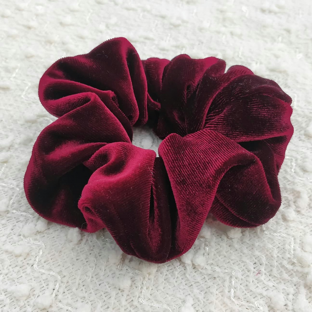 Very unique Velvet scrunchies,  handmade very strong and elastic