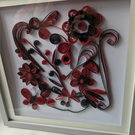 Quilled Framed picture