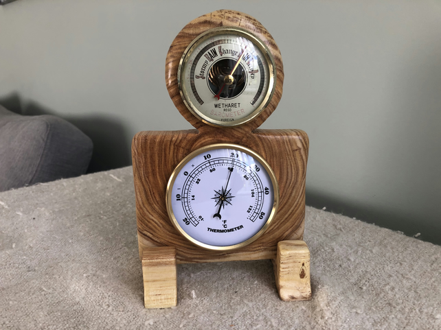 Hand made mini weather station