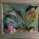 Sea and fish picture
