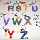 Initial, Keyring, Pre Made, Ready to Post, Keychain, Handbag Accessory, Gift